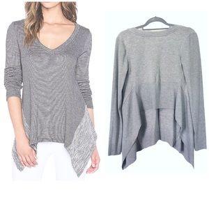 Beyond Yoga Double Faced Hi Low Sweatshirt Top S
